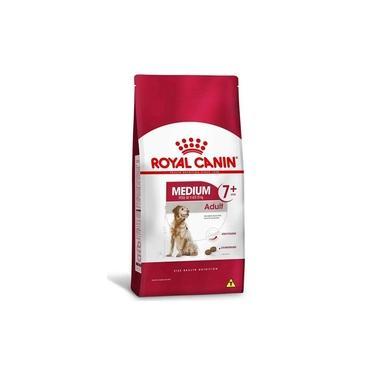 Ração Royal Canin Medium Adult 7+ Raças Médias Adultos mais de 7 anos 15Kg
