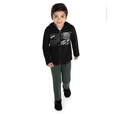 Conjunto Infantil Masculino Rovitex Kids Preto 10