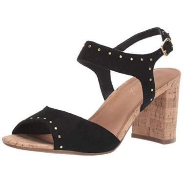 Sandália feminina de ponta alta Aerosoles, Black Fabric, 9.5