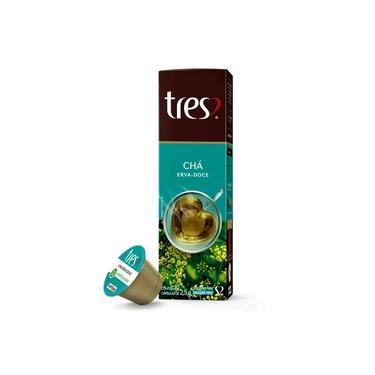 Chá Erva Doce 10 Cápsulas - Três Corações