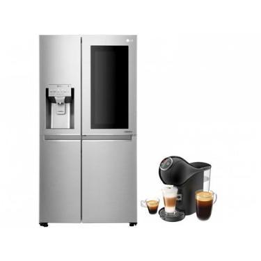 Imagem de Geladeira/Refrigerador Smart Lg Side By Side - Inverter 601L + Cafetei