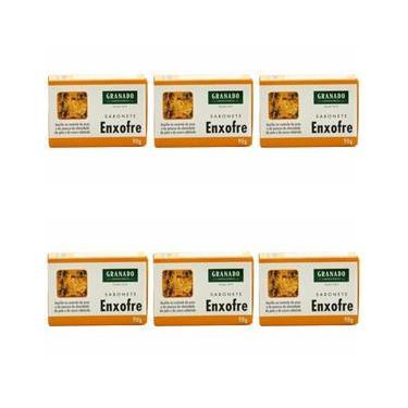Granado Sabonete Enxofre 90g (Kit C/06)