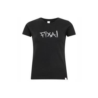 Camiseta Da Fixa Estampa Prata Feminina