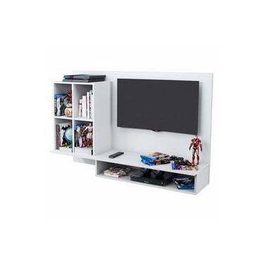 Painel Para Tv Até 32 Polegadas Show Branco - Móveis Albatroz