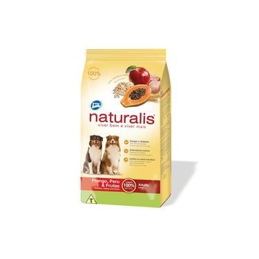 Ração Total Naturalis Para Cães Adultos Sabor Frango Peru E Frutas 15kg