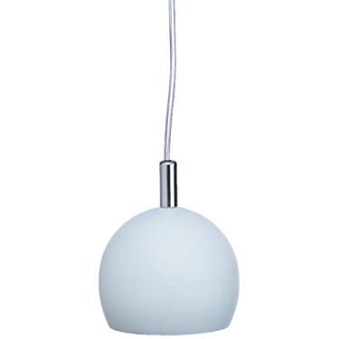 Pendente 1 Lâmpada E27, Pantoja & Carmona, 3079, 60 W, Branco Bivolt