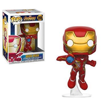 Funko Pop Marvel Infinity War Iron Man Nc Games Padrão