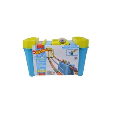 Imagem de Hot Wheels Kit Completo Track Builder Stunt Box - Mattel - PISTA DE VELOCIDADE