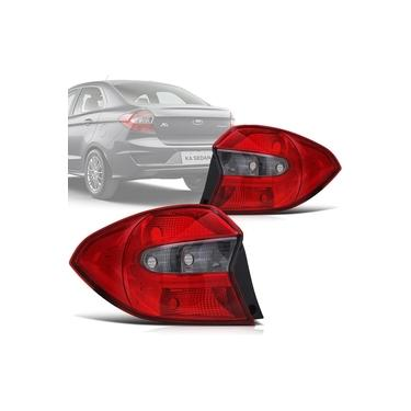 Lanterna Traseira Ford Ka Sedan 2015 15 2016 16 2017 Fumê