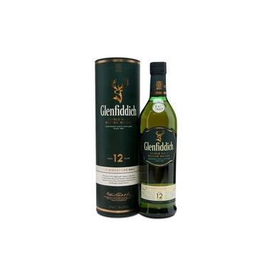 Whisky Escocês Single Malt Glenfiddich 12 Anos 750 Ml