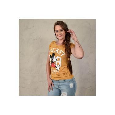 T-shirt Mickey 28 Mostarda Audrey