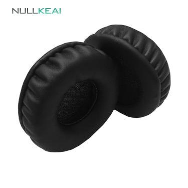 Imagem de Nullkeai peças de reposição earpads para plantronics blackwire c320 usb fones ouvido earmuff capa