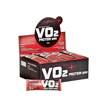 70b09f85c VO2 Protein Bar 24 Unidades x 30g - Integralmedica - chocolate