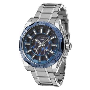 6033a9db675 Relógio Masculino Techos Classic Legacy JS25BB 1A - Prata