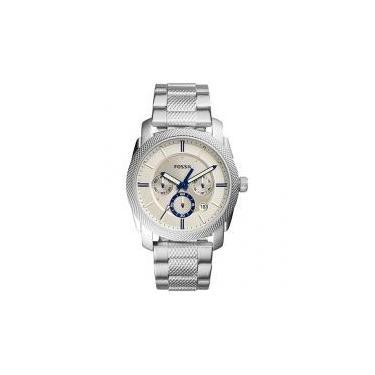 6c0ac84ae47 Relógio Masculino Fossil Analógico - Machine FS5324 1BN