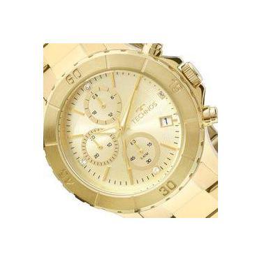 4b89d8c2a40e6 Relógio de Pulso Feminino Technos Calendário Shoptime   Joalheria ...