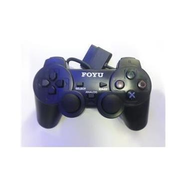 Controle Para Playstation 2 Dualshock Com Fio C/ Analógico