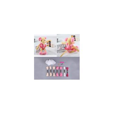 Diy Mouse Kits De Crochê Artesanal Brinquedo De Tricô Mão Kit Para Iniciantes