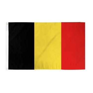 Bandeira Belga Bandeira Nacional Belga Bandeira Bandeira TrendyLuz Bandeira 3 x 5 pés