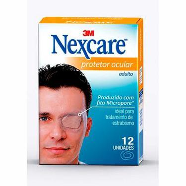Imagem de Protetor Ocular 3M Nexcare Adulto com 12 unidades 12 Unidades