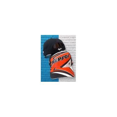 Imagem de Boné Moto GP Trucker Aba Curva Lindo Varios Modelos Moda Presente