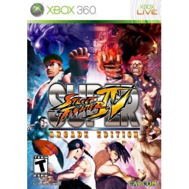 Game Super Street Fighter Iv: Arcade Edition - Xbox 360