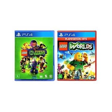 LEGO DC Super Villains + LEGO Worlds - PS4