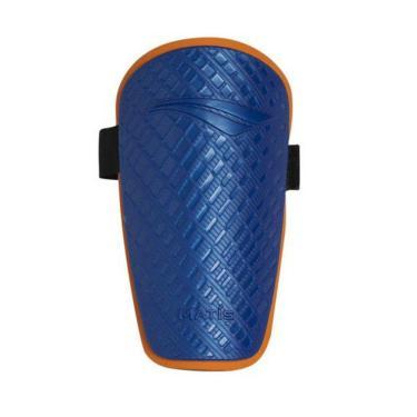 Caneleira Penalty Matis Viii Masculina 610140-6300, Cor: Azul/Laranja, Tamanho: U