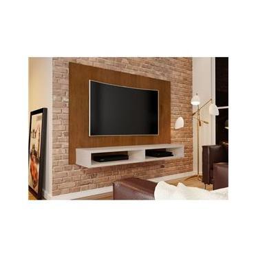 Painel para TV ate 55 polegadas JB5006 Caramelo com Perola