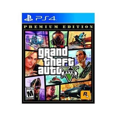 Jogo PS4 Gta V Premium Ed