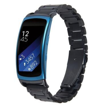 Relógio de aço inoxidável Banda Para Samsung Galaxy Gear Fit 2 Banggood