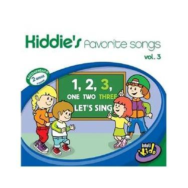 Imagem de Kiddies Favorite Songs Vol. 3 - CD Infantil