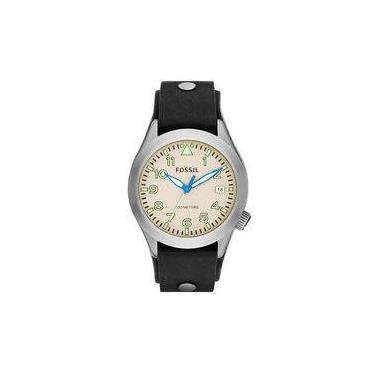 4b376a54aa7 Relógio Fossil - Am4552 - Analógico - Caixa Em Aço Inoxidável