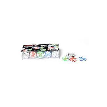 Fichas Para Jogo De Poker Profissional (100 Fichas). Incasa