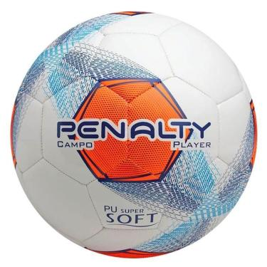 4db3e359cb Bola Futebol Campo Player VIII C C Penalty - Branco Marinho Laranja