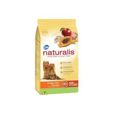Ração Total Naturalis Frango, Peru E Frutas Para Cães Adultos De Raças Pequenas - 8 Kg