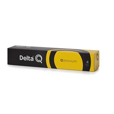 Cápsulas de Café Qonvivium Delta Q, Compatível com Delta Q, Contém 10 Cápsulas