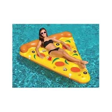 Boia Pizza Gigante Praia Piscina Mor 001970