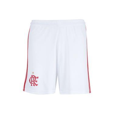 c1accb95d0 Calção do Flamengo I 2018 adidas - Masculino - BRANCO VERMELHO adidas