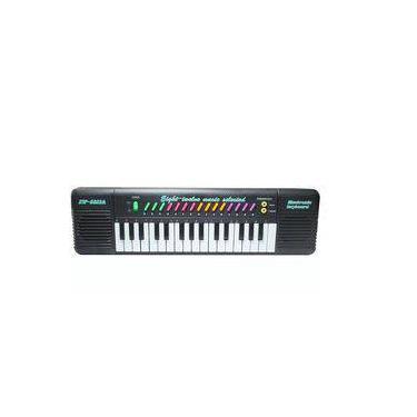 Imagem de Piano Teclado Infantil Musical Com Karaoke Microfone 32 Teclas