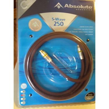 Cabo S-VHS Absolute S-WAVE250 - 5,0M