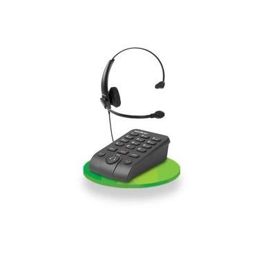 TELEFONE HEADSET Intelbras c/ base discadora HSB 50
