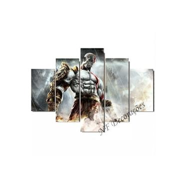 Quadro Kratos God Of War Ps4 Video Game Ps2 Ps3 06mmmdf