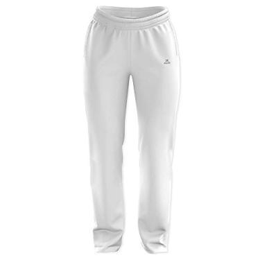 Calça Esportiva de Tactel CT-100 - Feminino - CBL-16100 (Branco, M)