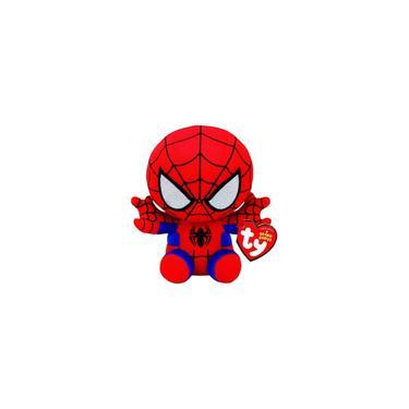 Imagem de Beanie Babies Homem Aranha Spider Man Pelúcia Ty Dtc