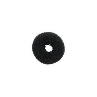 Prendedor De Cabelo - Esponja Donuts Preto Pequeno
