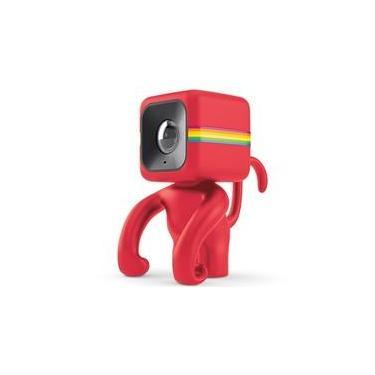 Imagem de Suporte de Câmera Polaroid, Cube, Monkey, Vermelho - POLC3MSR