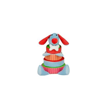 Imagem de Cai Não Cai Baby Cachorro Antialérgico Colorido 30Cm