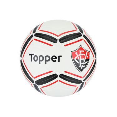Bola de Futebol de Campo do Vitória II Topper - BRANCO PRETO Topper 9970ae8d0cb7f