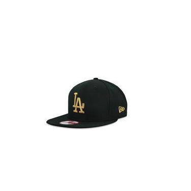 Bone 950 Original Fit  Los Angeles Dodgers Mlb Aba Reta Snapback Preto New Era